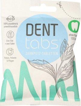 Denttabs, tabletki do zębów ze stewią o smaku miętowym bez fluoru, 125 tabletek-Denttabs