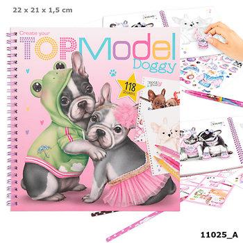 Depesche, kolorowanka Doggy Top Model 11025A-Depesche