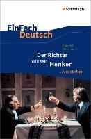 Der Richter und sein Henker. EinFach Deutsch ...verstehen-Durrenmatt Friedrich, Janke Daniela