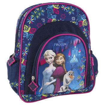 Derform, plecak szkolny, Kraina Lodu, granatowy-Derform