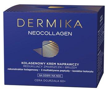Dermika, Neocollagen, multikolagenowy krem naprawczy do redukcji zmarszczek i bruzd 60+, 50 ml-Dermika