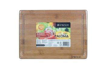 Deska do krojenia AMBITION Paloma, bambusowa, 28x20x1,5 cm -Ambition