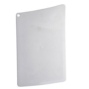 Deska do krojenia BEROSSI Rondo, biała, 31,7x19 cm-BEROSSI
