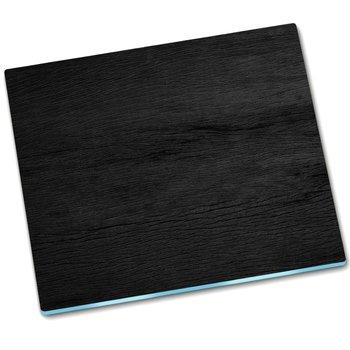 Deska do krojenia Czarny Drewno Deska - 60x52 cm-Tulup
