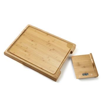 Deska do krojenia z wagą kuchenną PLATINET-PLATINET
