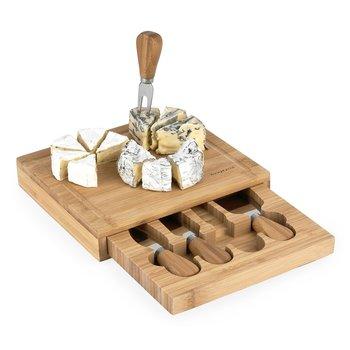 Deska do serów z 4 akcesoriami Konighoffer 5 el.-Konighoffer