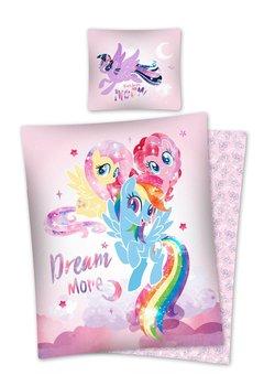 Detexpol, My Little Pony, Pościel licencyjna, 2-częściowa, 1474, 140x200 cm-Mówisz i Masz