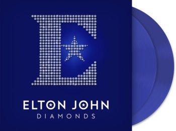 Diamonds (Blue Vinyl)-John Elton