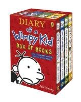 Diary of a Wimpy Kid - Box of Books-Kinney Jeff