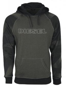 Diesel, Bluza męska, czarny, rozmiar S-Diesel