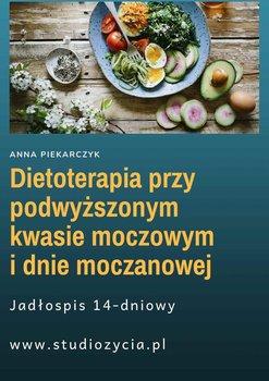 Dietoterapia przy podwyższonym kwasie moczowym i dnie moczanowej-Piekarczyk Anna