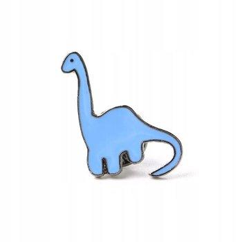 Dinozaur niebieski Przypinka-Pinets