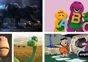 Dinozaury, które zawładnęły naszym dzieciństwem. Czy znasz je wszystkie?