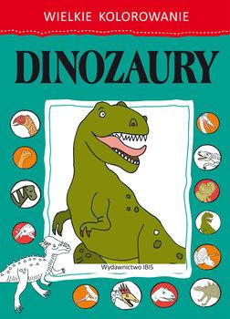 Dinozaury. Wielkie kolorowanie-Opracowanie zbiorowe