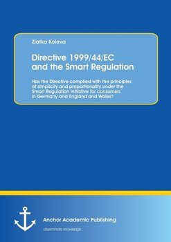 Directive 1999/44/EC and the Smart Regulation-Koleva Zlatka
