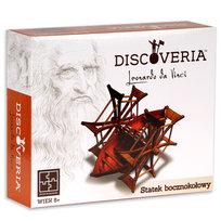 Discoveria Leonardo, model do składania Statek bocznokołowy