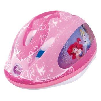 Disney, Kask rowerowy dziecięcy, 3D Princess, różowy, rozmiar 53-56-Disney