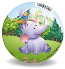 Disney, Kubuś Puchatek i Przyjaciele, piłka 13 cm-Disney