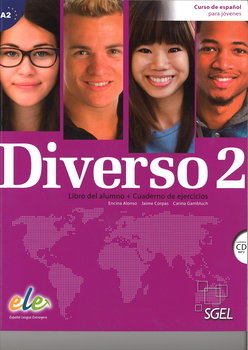 Diverso 2. Podręcznik + Ćwiczenia + płyta CD audio-Alonso Arija Encina, Corpas Jaime, Gambluch Carina