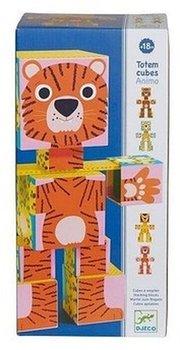 Djeco, klocki kartonowe Zwierzęta-Djeco