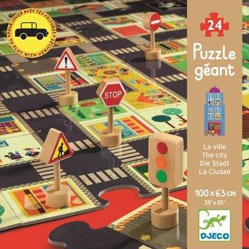 Djeco, puzzle Ulice w mieście-Djeco