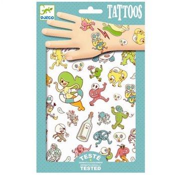 Djeco Tatuaże Dla Dzieci Zwariowany świat 2 Arkusze