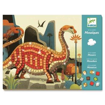 Djeco, zestaw kreatywny Mozaiki Dinozaury, DJ08899-Djeco