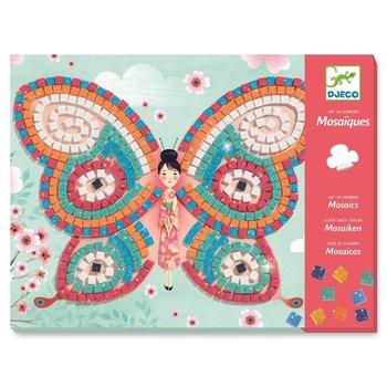 Djeco, zestaw kreatywny Mozaiki Motylki, Dj08898-Djeco