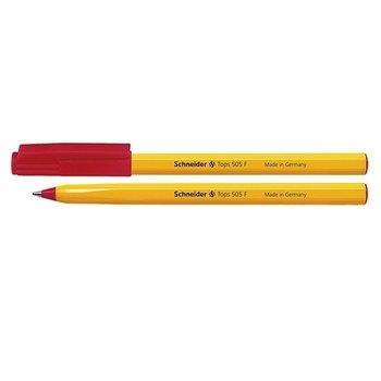 Długopis Schneider Tops 505, czerwony