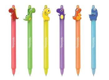 Długopis wymazywalny automatyczny Dinozaury Colorino School p36/60 cena za 1 szt (29928PTR)-Patio