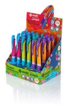 Długopis z ergonomicznym uchwytem Zenith Praxis mix kol. p24 cena za 1szt (201318001)-Astra