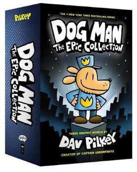 Dog Man 1-3: The Epic Collection-Pilkey Dav