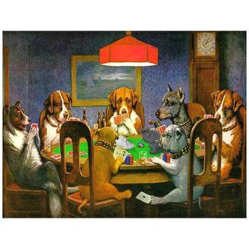 Dogs Playing Poker - A Friend In Need 60x80-Legendarte