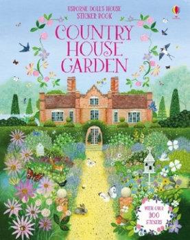 Doll's House Country House Gardens Sticker Book-Reid Struan