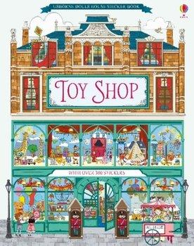 Doll's House Sticker Book Toyshop-Reid Struan