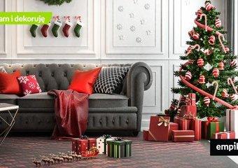 Dom w świątecznym kolorze. Jak udekorować mieszkanie na Boże Narodzenie?