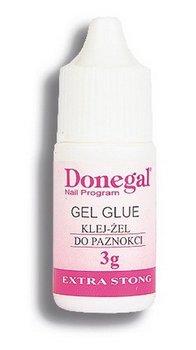 Donegal, klej do paznokci bezbarwny, 3 g-Donegal