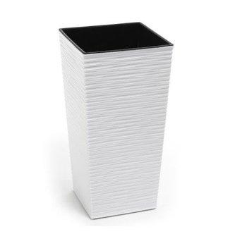 Doniczka LAMELA Finezja, kremowa, 36 cm-Lamela
