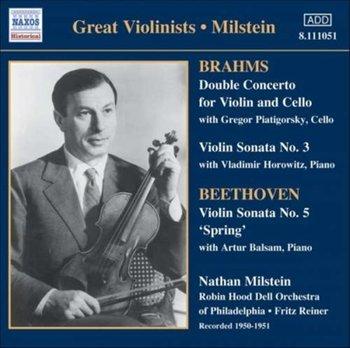 Double Concerto / Violin Sonata No. 3 / Violin Sonata No. 5 (Milstein)-Milstein Nathan