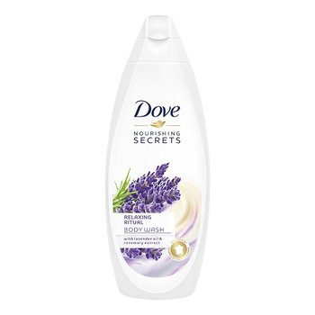 Dove, Nourishing Secrets, żel pod prysznic Lavender Oil & Rosemary Extract, 750 ml - Dove