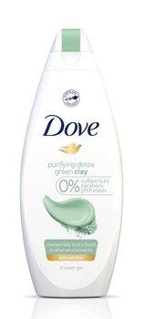 Dove, Purifying Detox, żel pod prysznic z zieloną glinką, 500 ml-Dove