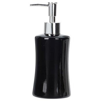 Dozownik do mydła BATHROOM SOLUTIONS, czarny, 19 cm-Bathroom Solutions