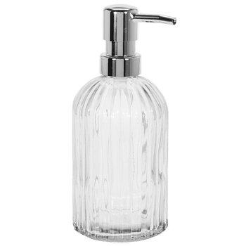 Dozownik do mydła EH EXCELLENT HOUSEWARE, srebrny, 18 cm-EH Excellent Houseware