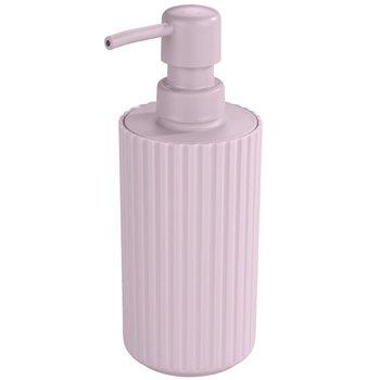Dozownik do mydła w płynie ALLSTAR Minas, różowy, 18x7 cm-Allstar