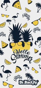 Dr. Bacty, Ręcznik szybkoschnący, Hello Summer XL, 70x140 cm-Dr.Bacty