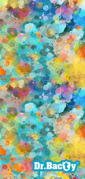 Dr.Bacty, Ręcznik szybkoschnący, Kolorowe Plamki, 70x140 cm-Dr.Bacty