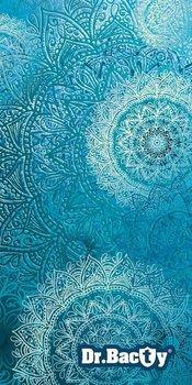 Dr.Bacty, Ręcznik szybkoschnący Mandala, Niebieski L, 60x130 cm-Dr.Bacty