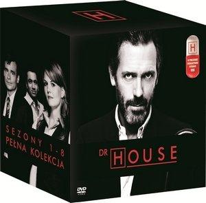 Dr house sezony 1 8 dvd shore david filmy sklep empik com Dr house sklep