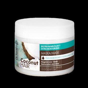 Dr. Sante, Coconut Hair, maska nawilżająca do włosów suchych i łamliwych, 300 ml-Dr. Sante