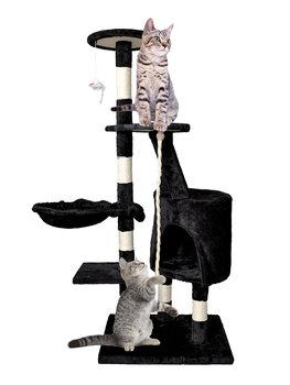 Drapak wieża dla kota MALATEC, czarny, 118 cm -Malatec